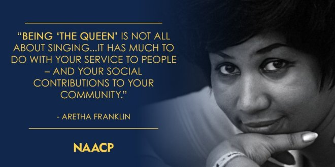Aretha Franklin NAACP