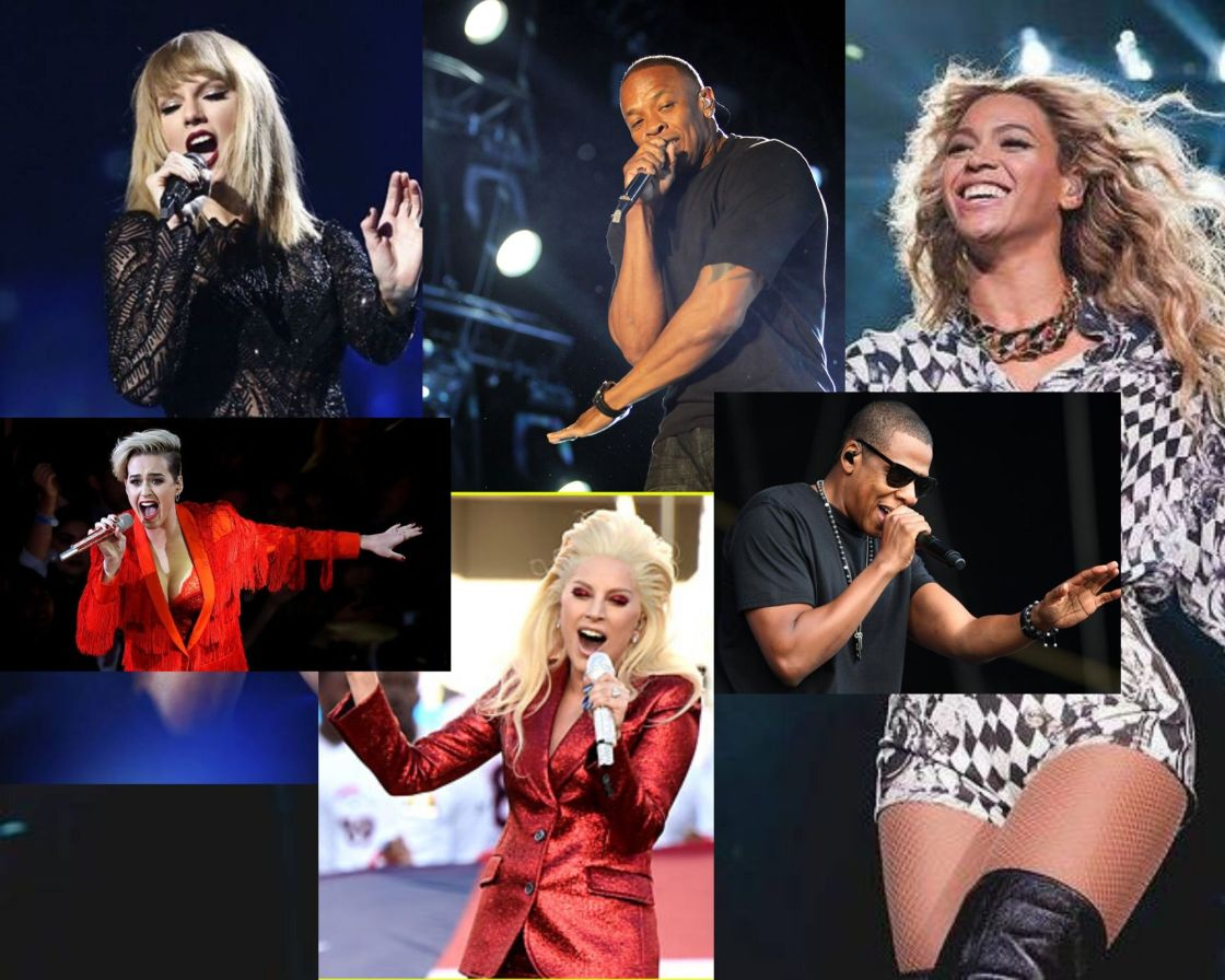 top 10 earning musicians of the decade