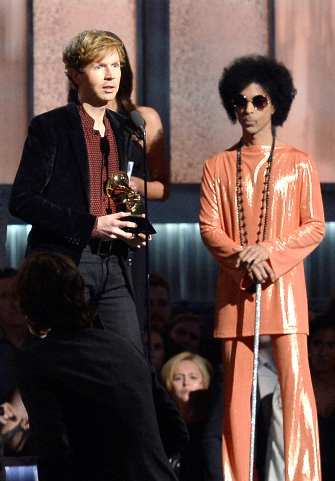 beck with prince