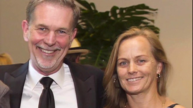 netflix ceo hastings and wife