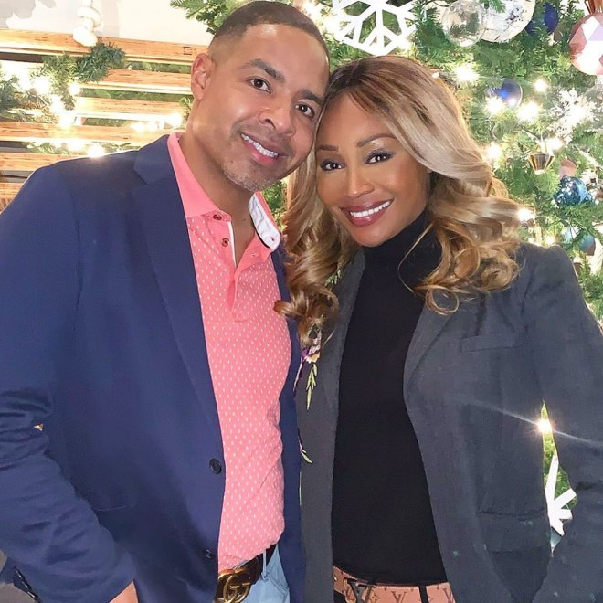 cynthia bailey and mike hill get married