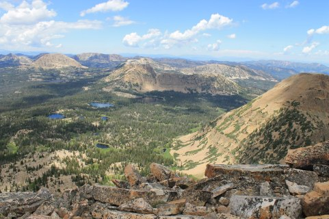 Bald Mountain Uinta View