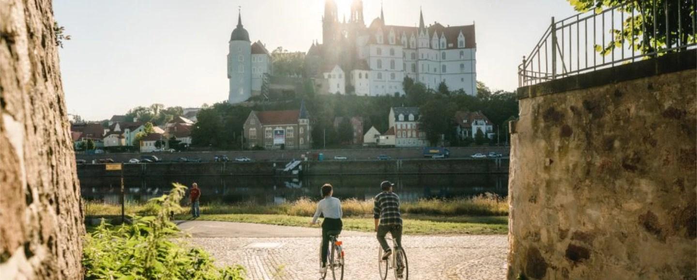 Radfahren Dresden Elbland