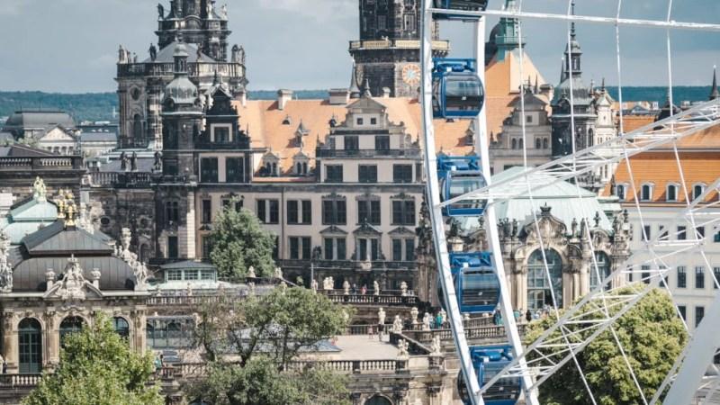 Dresden von Oben