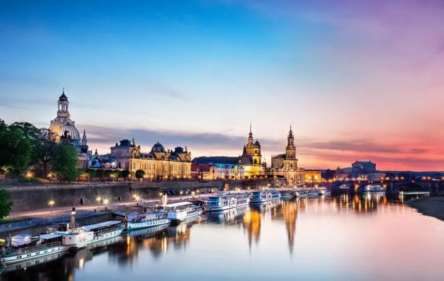 Dresden Altstadt Schiffe