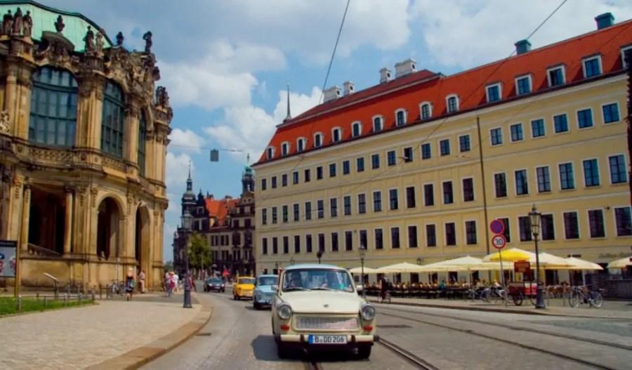 Dresden Stadtführung Trabi-Tour