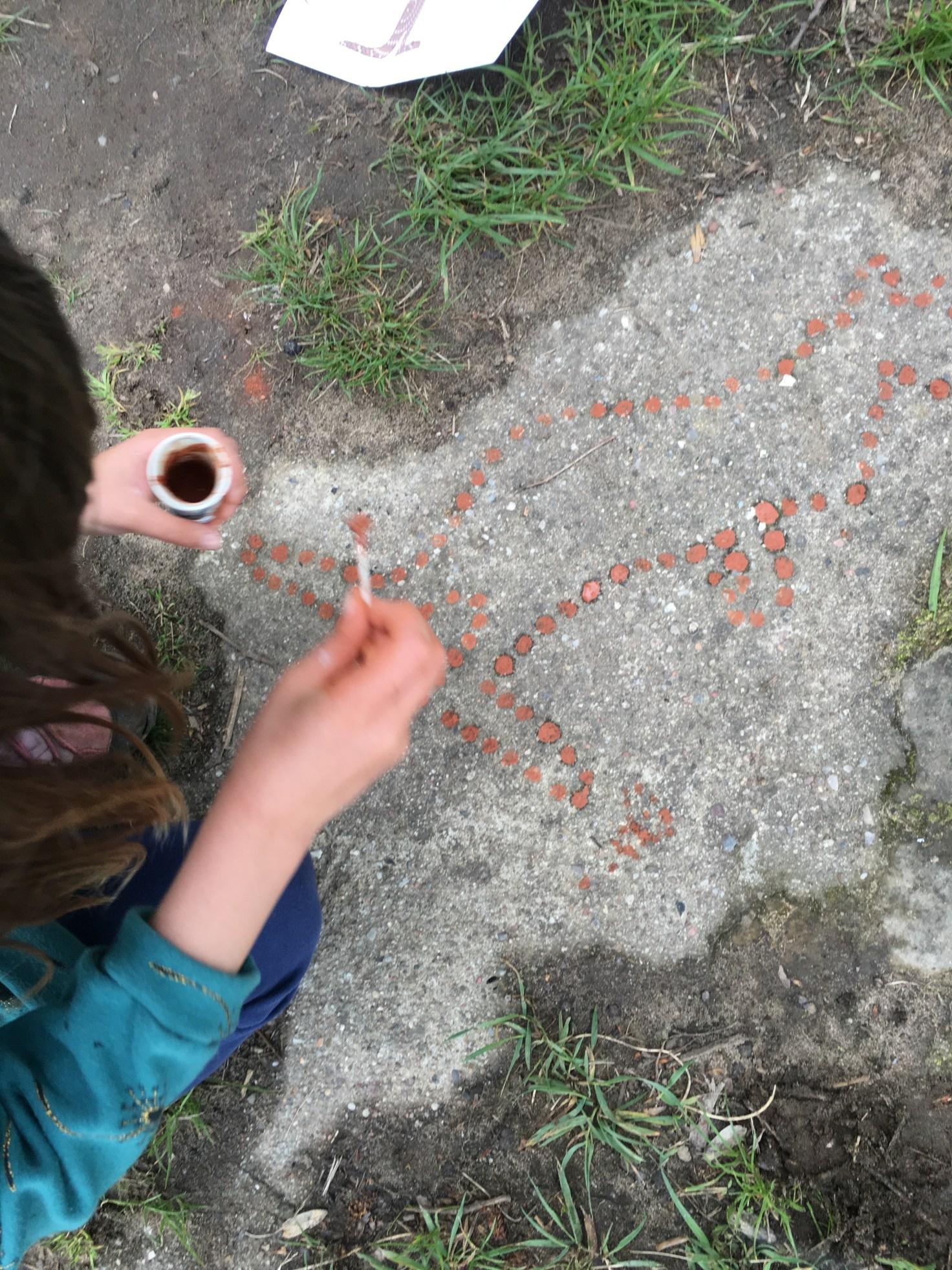 Höhlenmalerei - Steinzeit für Kinder - Dresden Mutti