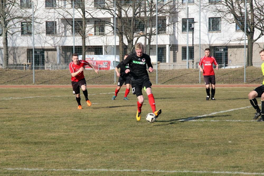 15. Spieltag: SG Dresden Striesen - Dresdner SC 2:0