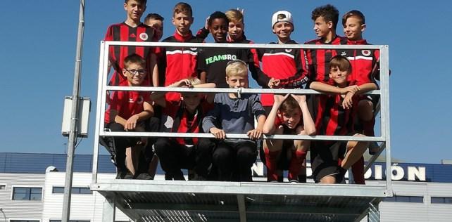 D1-Jugend im Trainingslager