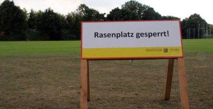 Cossebaude-Heimspiel wegen Platzsperre abgesagt