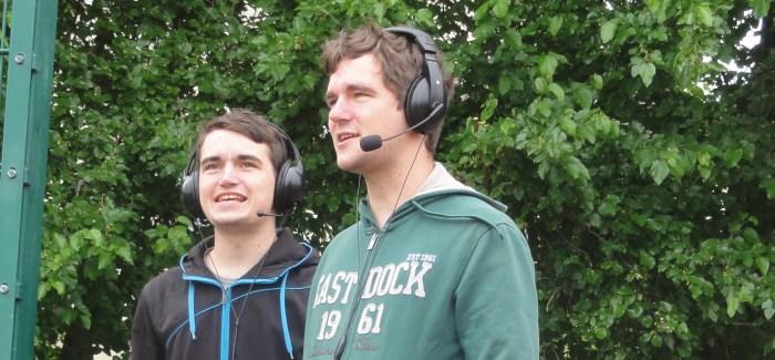 Interview mit Stadionsprecher und Webradio-Chef Benjamin Walther