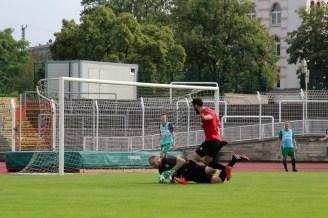 2. Spieltag: Dresdner SC - Königswarthaer SV 1:1 (1:0)