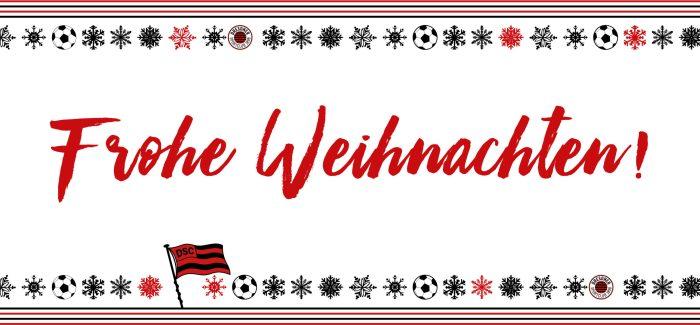 Der DSC wünscht schöne Weihnachten!