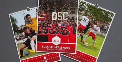 Neu im Fanshop: DSC-Wandkalender 2016