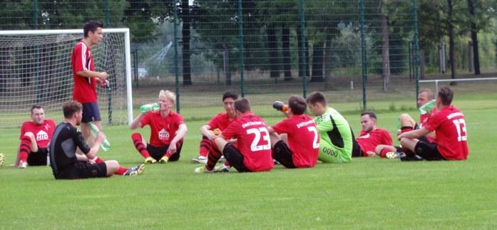 Test gegen Wilsdruff im Stadion