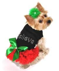 Dog Christmas Dress Photo - 1 | Dress The Dog - clothes ...