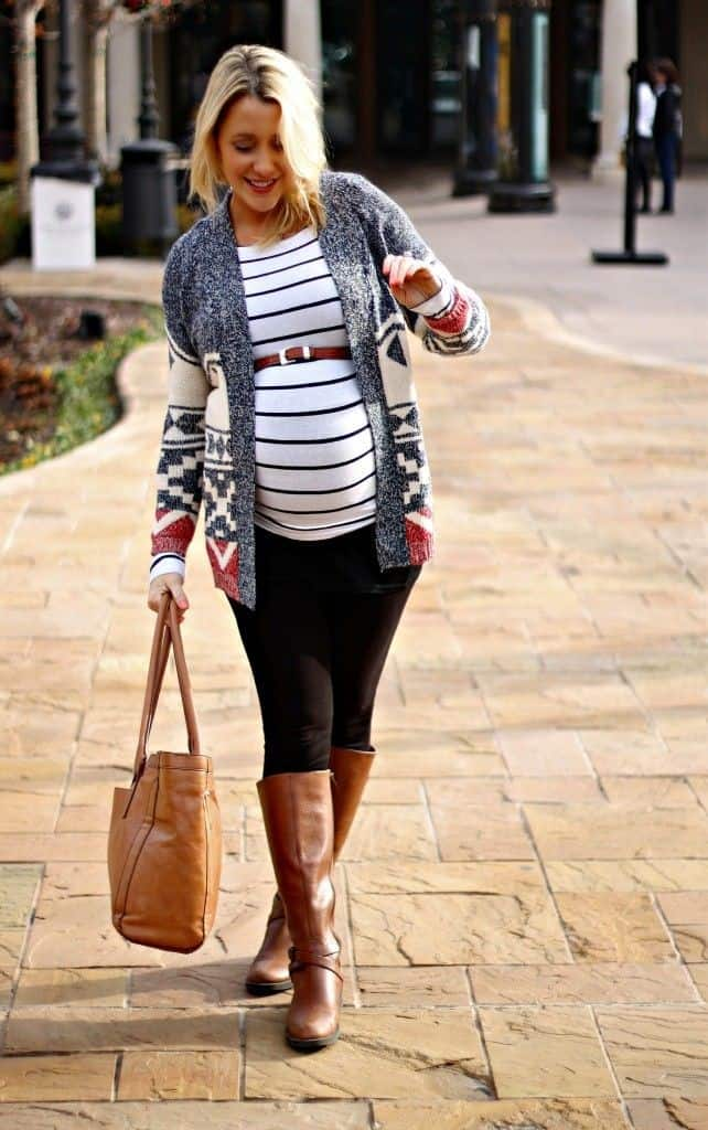 Maternity-fashion-trends-2016-short-dresses-for-pregnant-women-1
