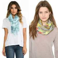 Womens scarves trends 2016  DRESS TRENDS