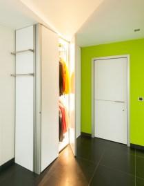 design vestiaire met led verlichting