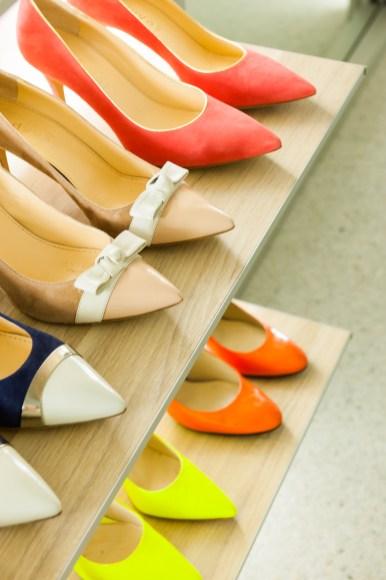 schoenen opbergen in dressing