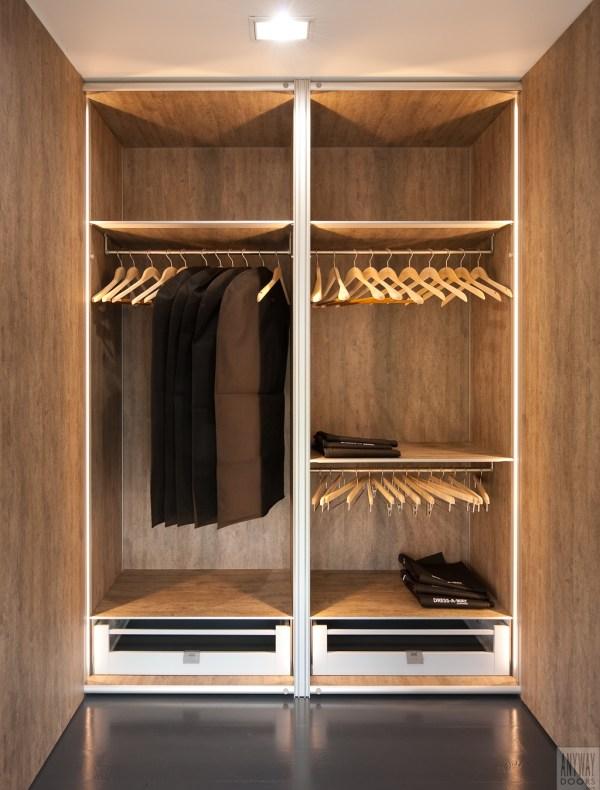 Design garderobekasten op maat.