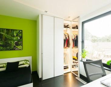 Garderobekast op maat in slaapkamer