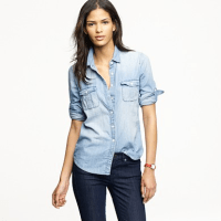 Review: J.Crew Keeper Chambray Shirt