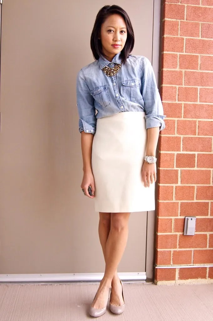 DRESSED ACCORDINGLY // One winter skirt, five ways
