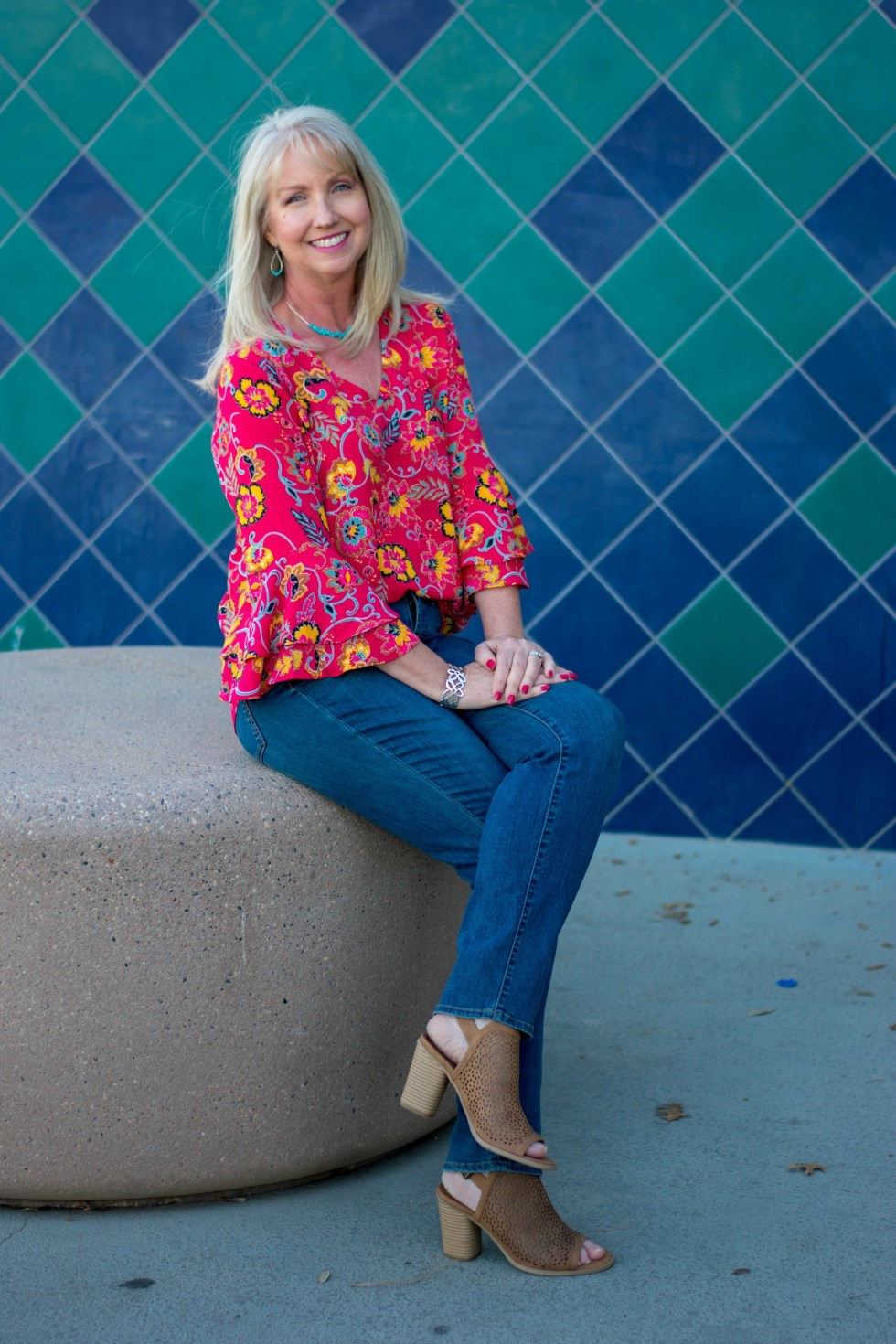 Bell Sleeve Blouse from Marshalls