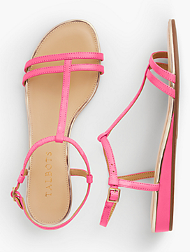 Low Heeled Sandals look fresh, young and a little flirtatious