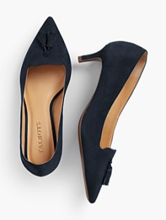 Solid pumps look mature and knowledgeable