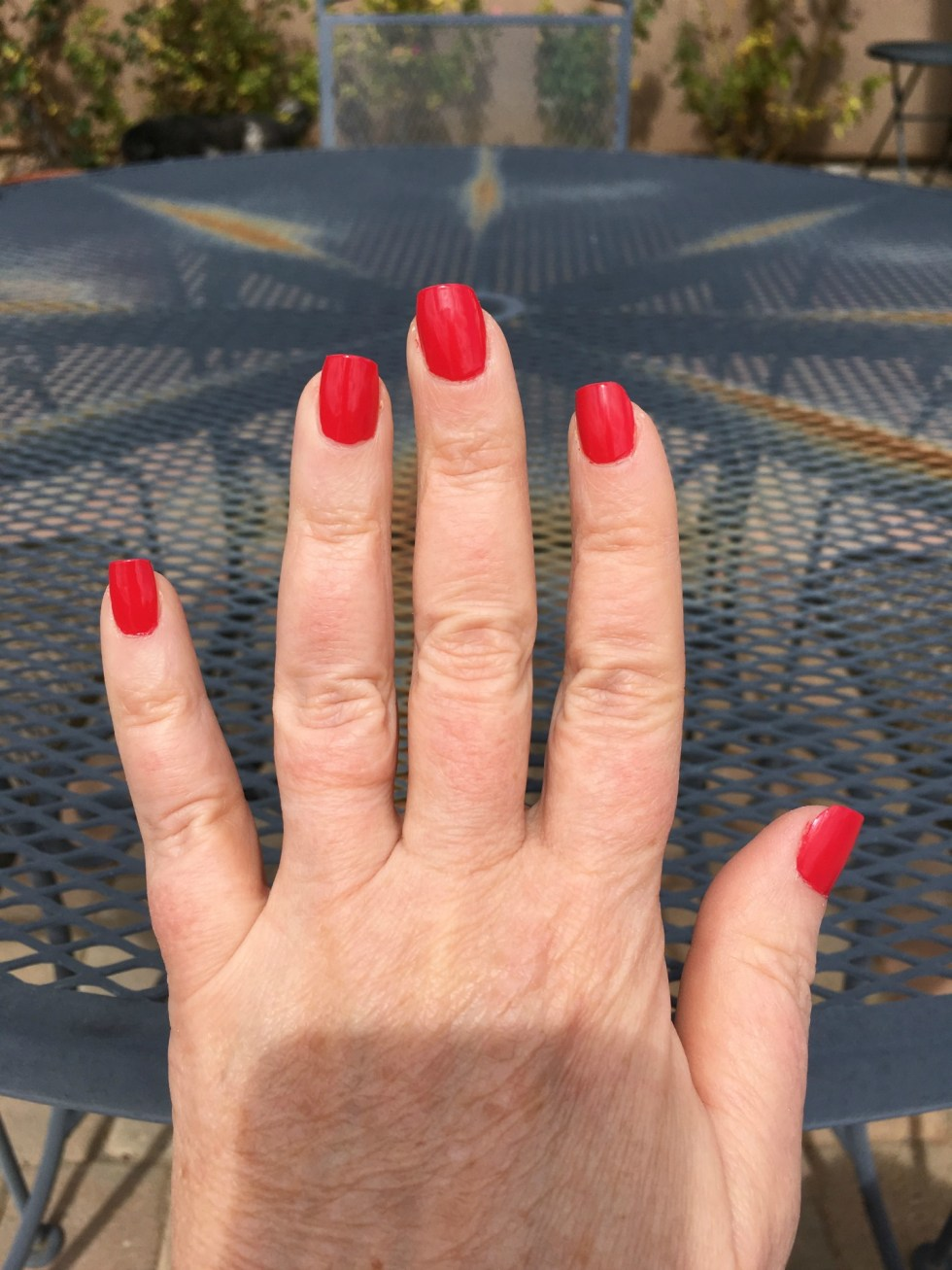 Dry Home Manicure in Sun Image