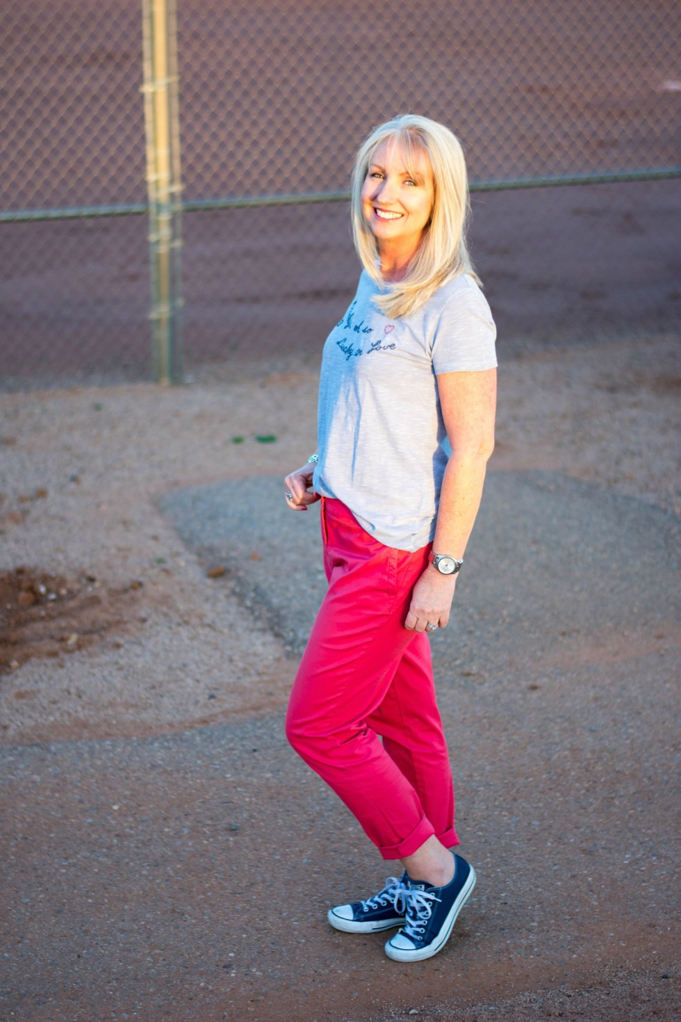 Lucky Brand T with Talbots Chilnos