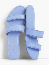 Super Flat Sandals look casual and comfortable