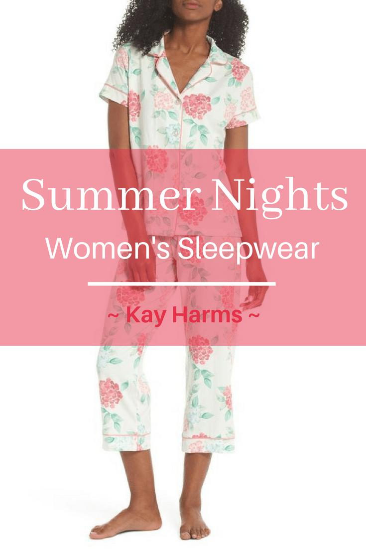 Summer Nights Women's Sleepwear Favorites