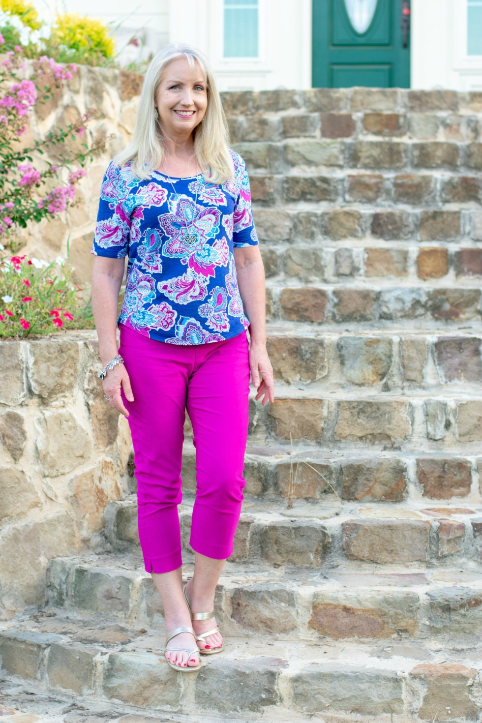 Crops and tops from Chico's 4