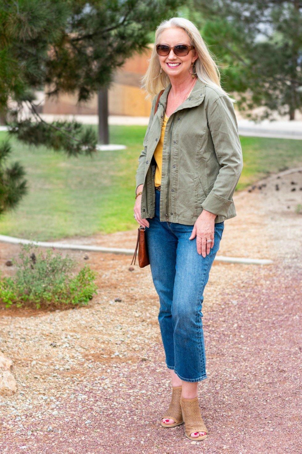 Utility Jacket Completes Fall Weekend Look