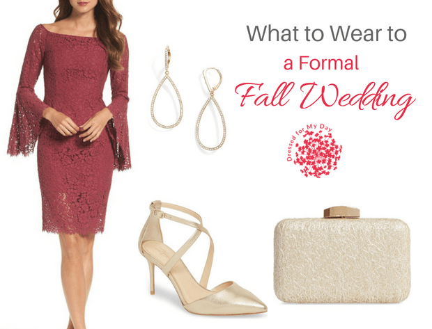 What to Wear to a Formal Fall Wedding