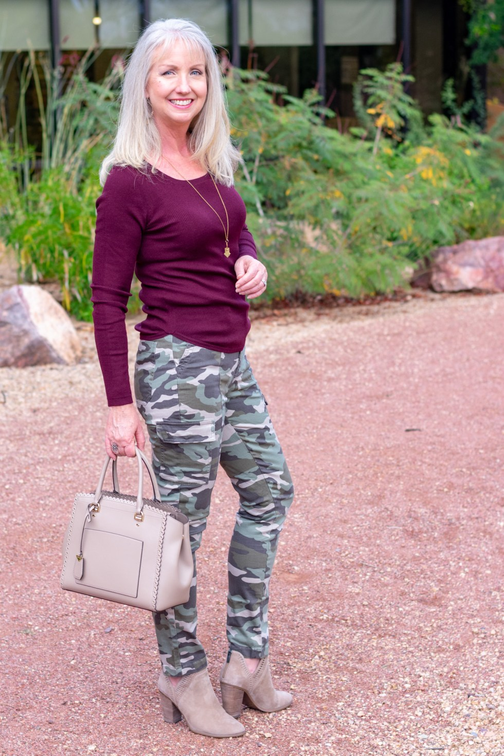 2 Ways to Wear Camo + More Ideas