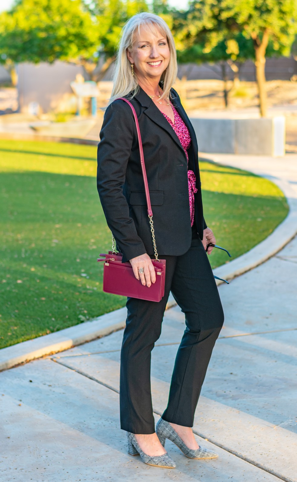 Pretty in Pink and Black for Fall