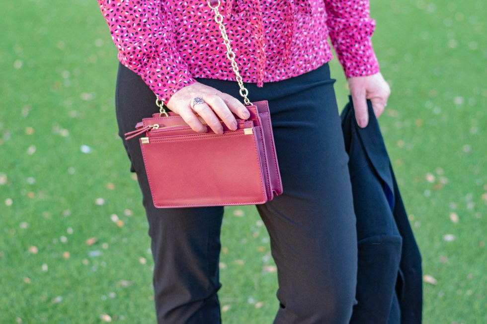 Pretty in Pink and Black for Fall 4