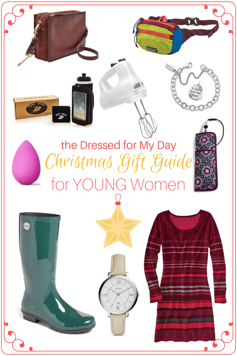 Christmas 2018 Gift Guide for Young Women