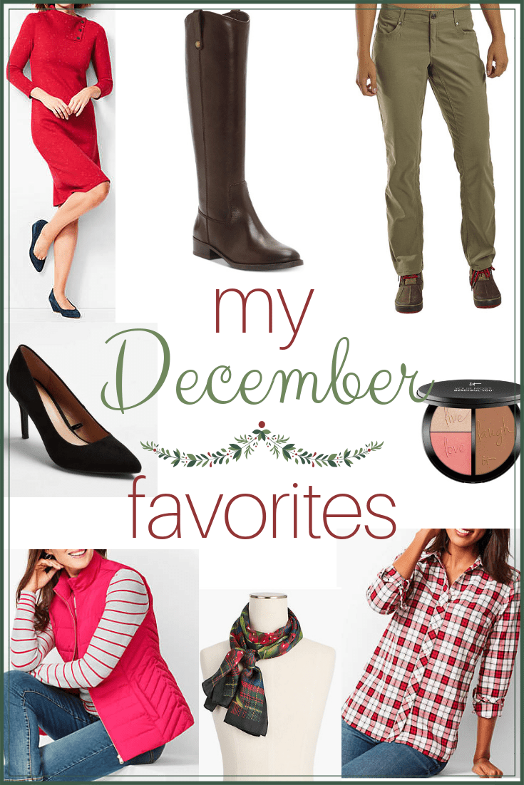 My December 2018 Favorites - cosmetics, accessories and clothing I have loved owning and using this December