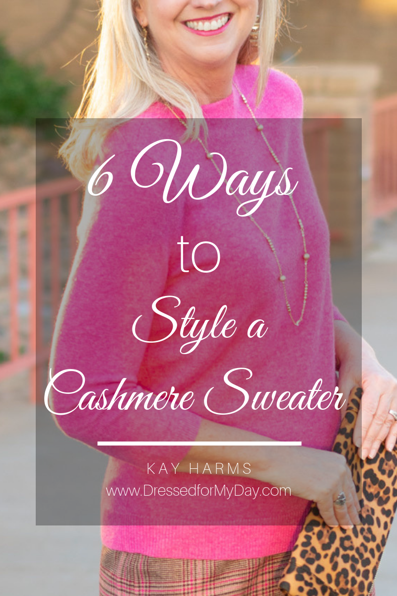 6 Ways to style a cashmere sweater