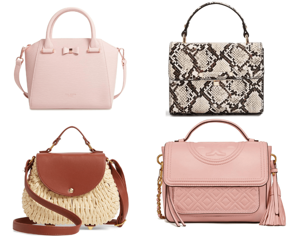 Spring 2019 Trend Forecast top Handle Handbags