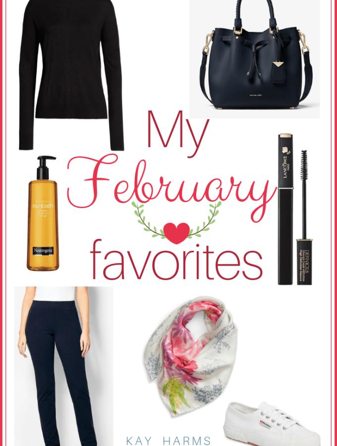 My February 2019 Favorites