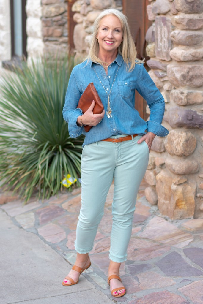 Shades of Blue in a Modern Classic Look