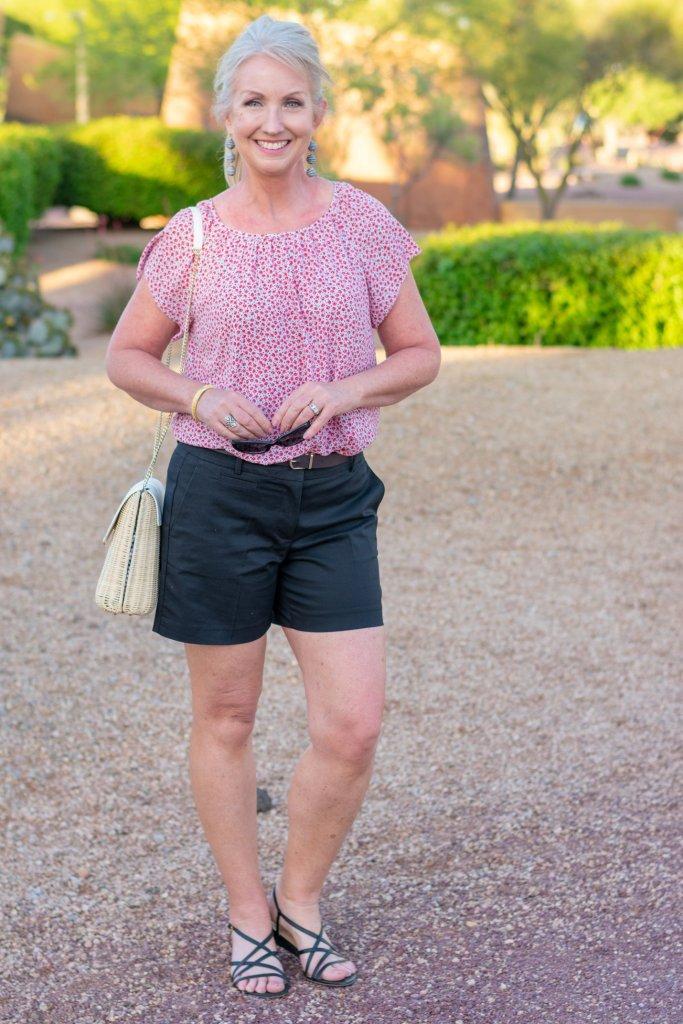 Black Shorts - a Versatile essential for Summer