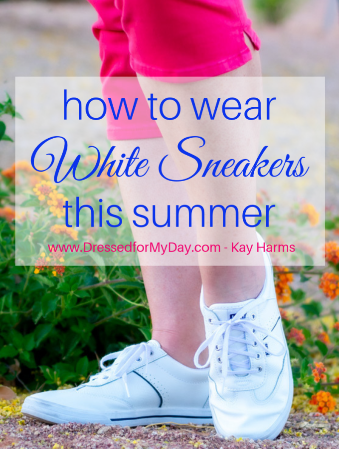 How to Wear White Sneakers this Summer