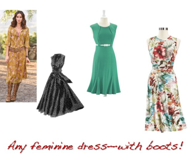 Option  More Dresses Collage